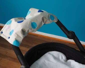 Protects hands warm and waterproof for stroller brand