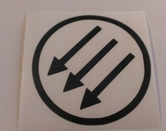 Antifa Arrows Vinyl Decal