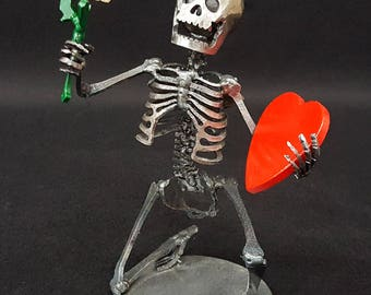 Mini Valentine Skeleton