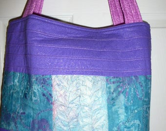 Tote Three dimensional One of a kind  CLEARANCE
