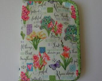 Spring-style notebook holder/organizer Wallet
