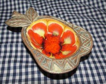 Mid Century California Pottery Pear