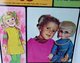 Vintage Retro 1968 Whitman  BUFFY  Paper doll BOOK Original