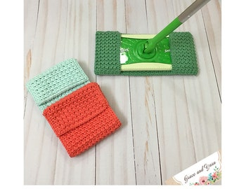 Easy Crochet Mop Cover Pattern - PDF Printable Pattern - Instant Download