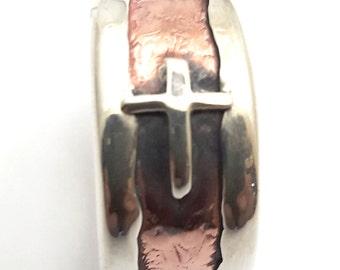 Cross Designed Hand Made Ring