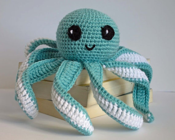 Crochet Octopus Pattern PATTERN ONLY Amigurumi Octopus Pattern Simple Octopus Crochet Pattern