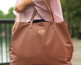 Cambridge Travel Bag in Camel