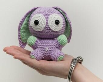 Bunny Kawaii crochet pattern / PDF FR