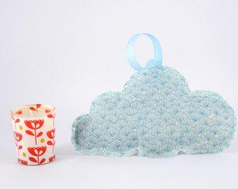 Lavender sachet organic blue hanging cloud