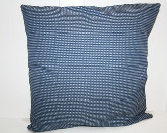 Decorative 18x18 Home Decor Blue and White  Pillow Cover