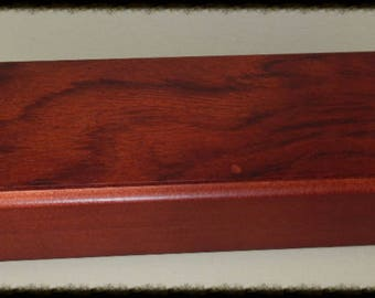 Elegant Bubinga Wood Pen Box