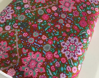 Amy Butler fabric, Soul Mate, Etsy Gift Idea, Gift for Quilter, Baby Quilt, Quilting fabric, Inner Vision in Cocoa - Choose the cut