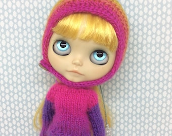 Hat and sweater for Blythe
