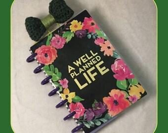 Large Crochet Bow Paper Clip