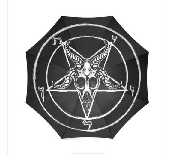 Sigil of Baphomet Foldable Umbrella