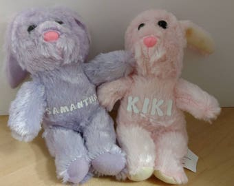 Custom Personalized Name Easter Bunny Rabbit
