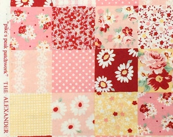 SALE : Pike's Peak Patchwork Alexander Henry fabric FQ or more