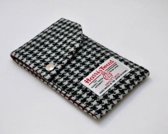 HARRIS TWEED fabric Phone Case/Pouch - London Collection