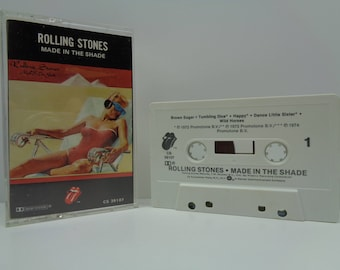 Rolling Stones Made in the Shade Cassette