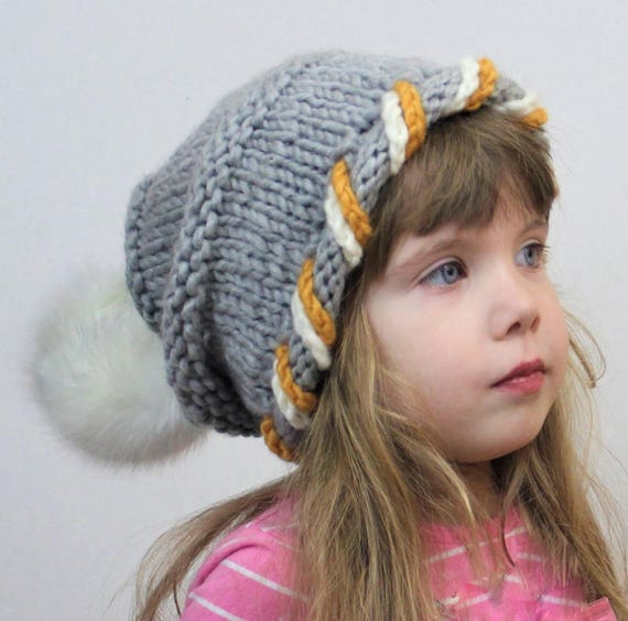 Toddler Knit Slouchy Hat Meme
