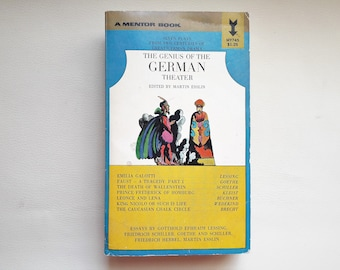 The Genius of The German Theatre - 1968 - Martin Esslin - The New American Library - Paperback - Second hand books