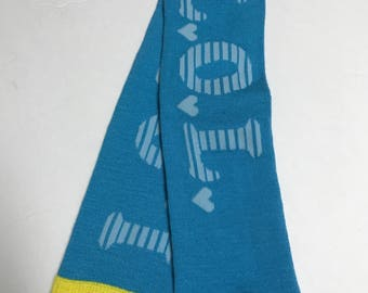 Handmade Baby Toddler Child Leg and Arm Warmers - LOL Blue