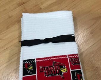 Illinois  State University Hand Towels