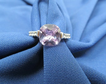 Beautiful Purple Stone Ring - Size 8, Vintage Jewelry, Rings For Women