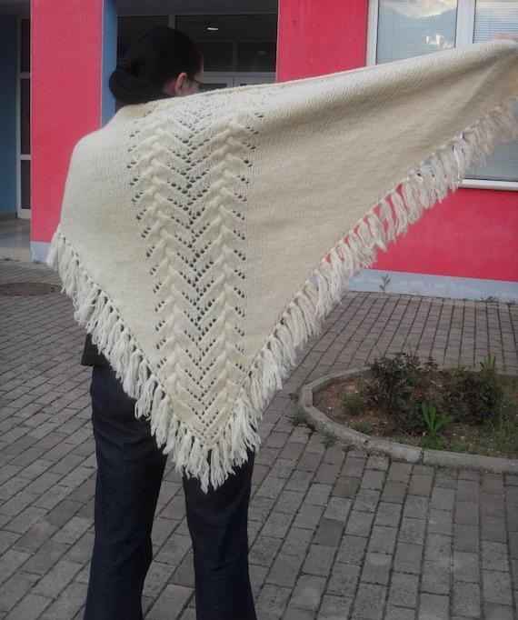 Knit Shawl Pattern Wrap Shawl Pattern Knitting Pattern Shawls