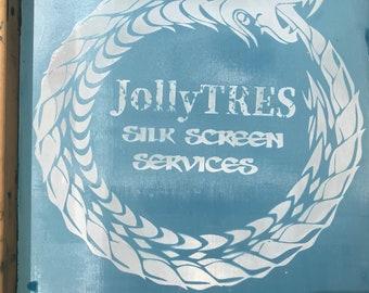 "DIY Silk screen printing 16"" X 12"" ( 13"" X 10"" printing area )"