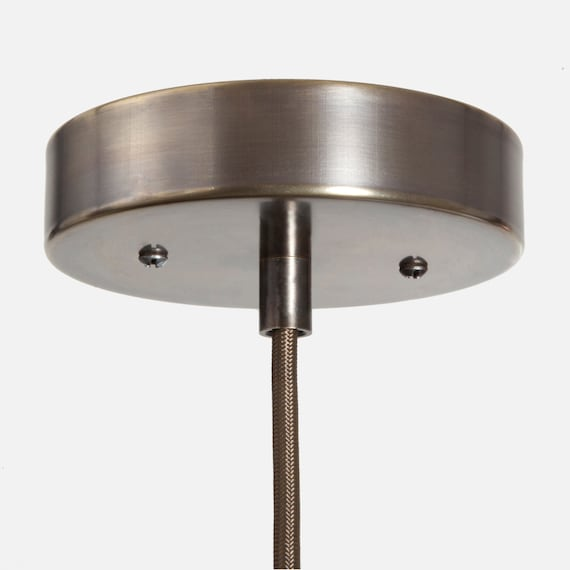 Vintage Brass Ceiling Canopy Kit Pendant Light Ceiling Hanging