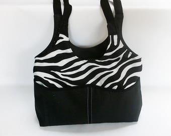 BI-material bag Zebra.
