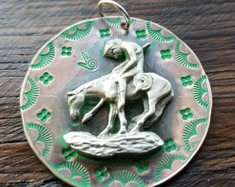 End of the Trail Cooper Pendant