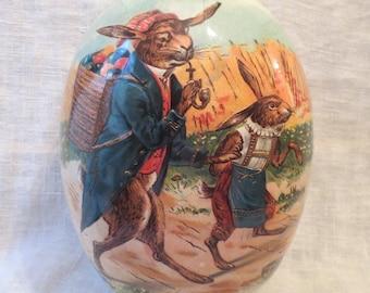 """Nestler Egg Bunny Rabbits Made In Germany 7""""L"""