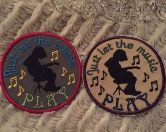 WSP 'Just Let The Music Play' Patches