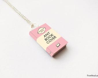 Custom Miniature Book Necklace
