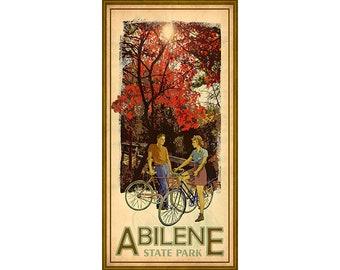 Abilene State Park, Texas, Camping, Bicycle Riding, Yurt Rental