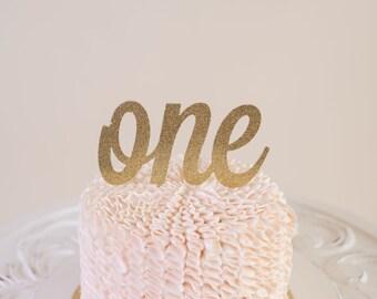 """Glitter """"Number"""" Cake Topper - Kids Birthday Cake Topper - Custom Cake Topper - Birthday Cake Topper - Custom Age Cake Topper"""