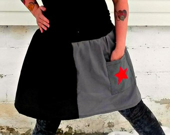 Winter inspired Soldier tutu skirt Cosplay with pocket