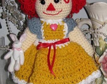 Cocheted Rag Doll