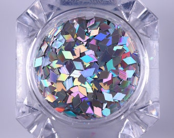 Diamond holographic glitters