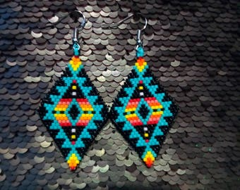 Peyote Stitch Earrings