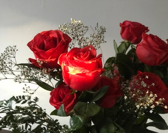 Roses, A Photograph
