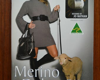 Patons 1287 'Merino Deluxe DK' Pattern Book Designed by Jo Nathan
