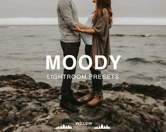 Moody Tones Lightroom Presets for Portrait, Wedding, Product, Outdoor, Studio, Newborn Filter to achieve dreamy Photo Editing Results
