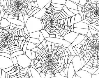 Fright Night Spider Webs By Henry Glass & Co.