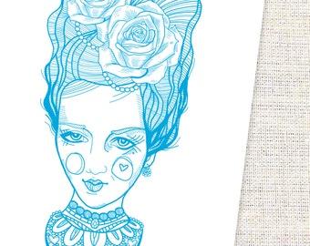 Art Print - Marie Antoinette Inspired