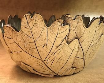 Large Oak Leaf Bowl 164