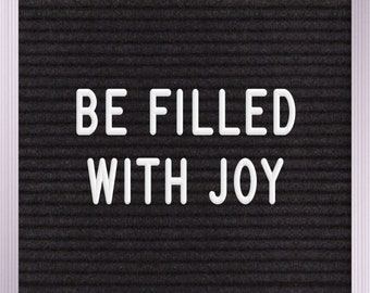 be filled with joy Print | Wall Art | Printable | 8x10