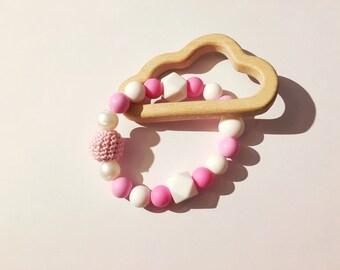 Silicone teething ring